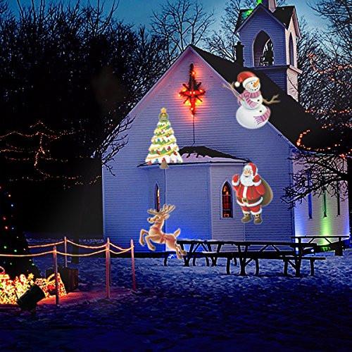 Outdoor Halloween Projector  Halloween Decorations Projector lights Lychee outdoor