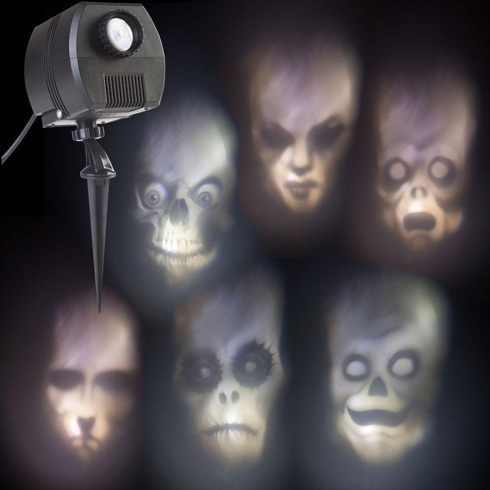 Outdoor Halloween Projector  LightShow Animated Outdoor Projection Fade Steady White