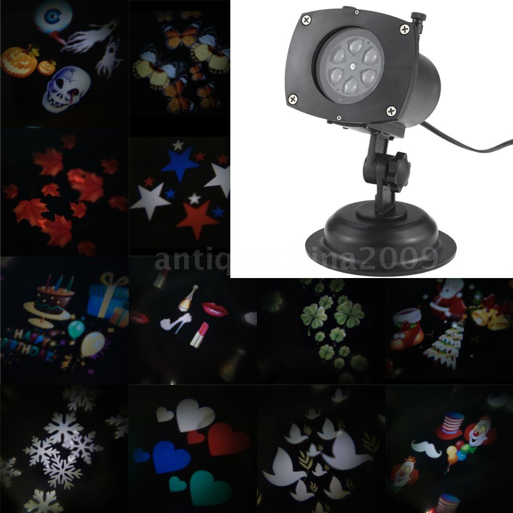 Outdoor Halloween Projector  TOMSHINE Halloween Xmas Easter Projector Lamp Rotating LED