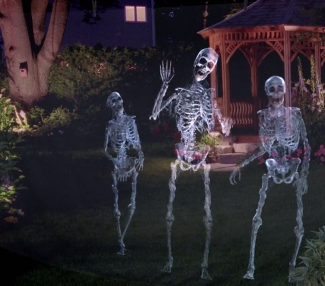 Outdoor Halloween Projector  Digital Decorating 101 Creating Hollusions – AtmosFX