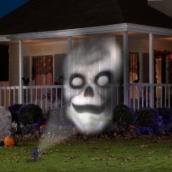 Outdoor Halloween Projector  Halloween Animated Outdoor Projection Fade Steady