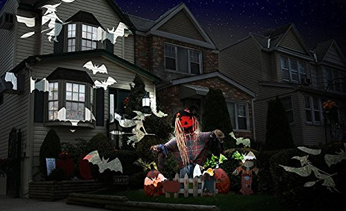 Outdoor Halloween Projector  Night Stars Celebration Series LED Image Motion Projection