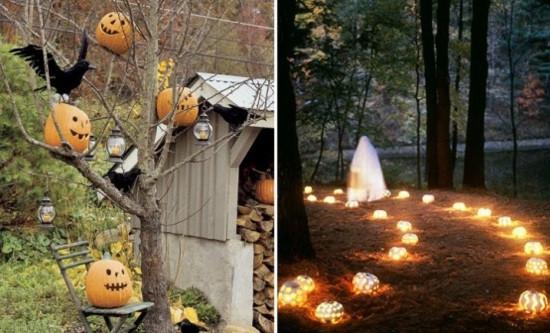Outside Halloween Party Ideas  La décoration Halloween extérieure 90 idées