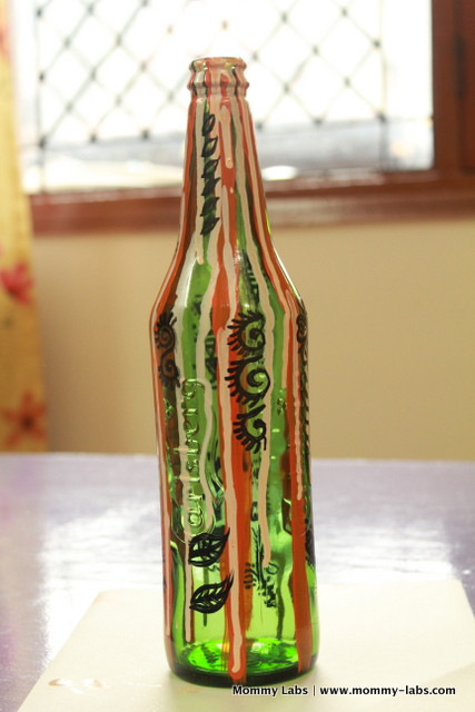 Painting Crafts For Adults  Hand Painted Glass Bottles and Jars Different Ways to Paint