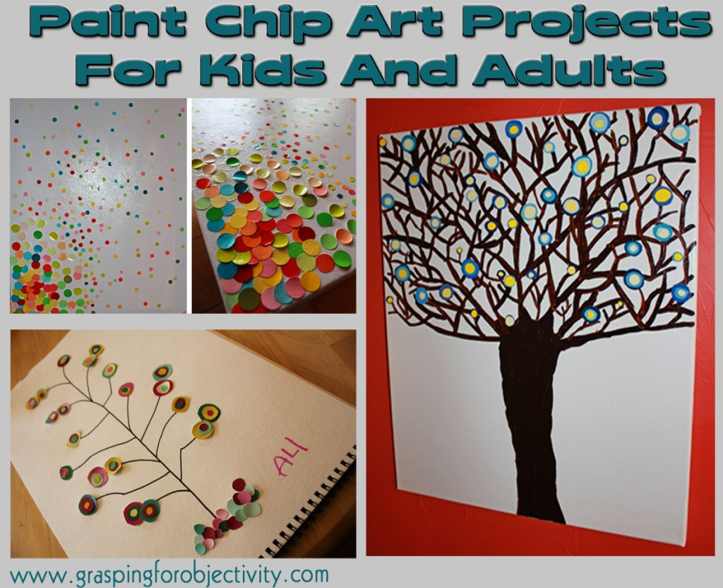 Painting Crafts For Adults  Paint Chip Art