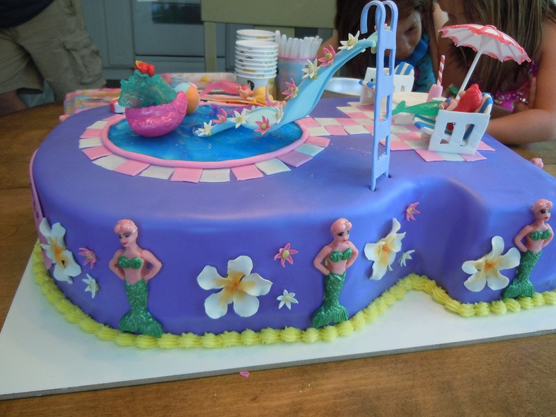 Pool Party Birthday Cakes Ideas  Pool Party Cakes – Decoration Ideas
