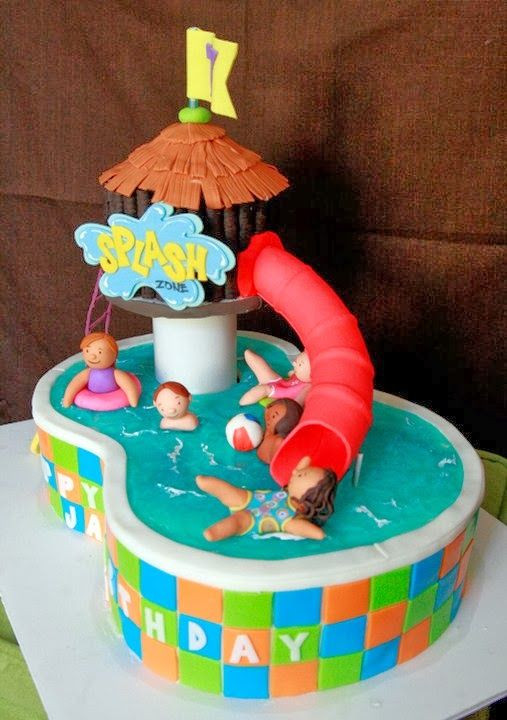 Pool Party Birthday Cakes Ideas  17 Best ideas about Pool Birthday Cakes on Pinterest