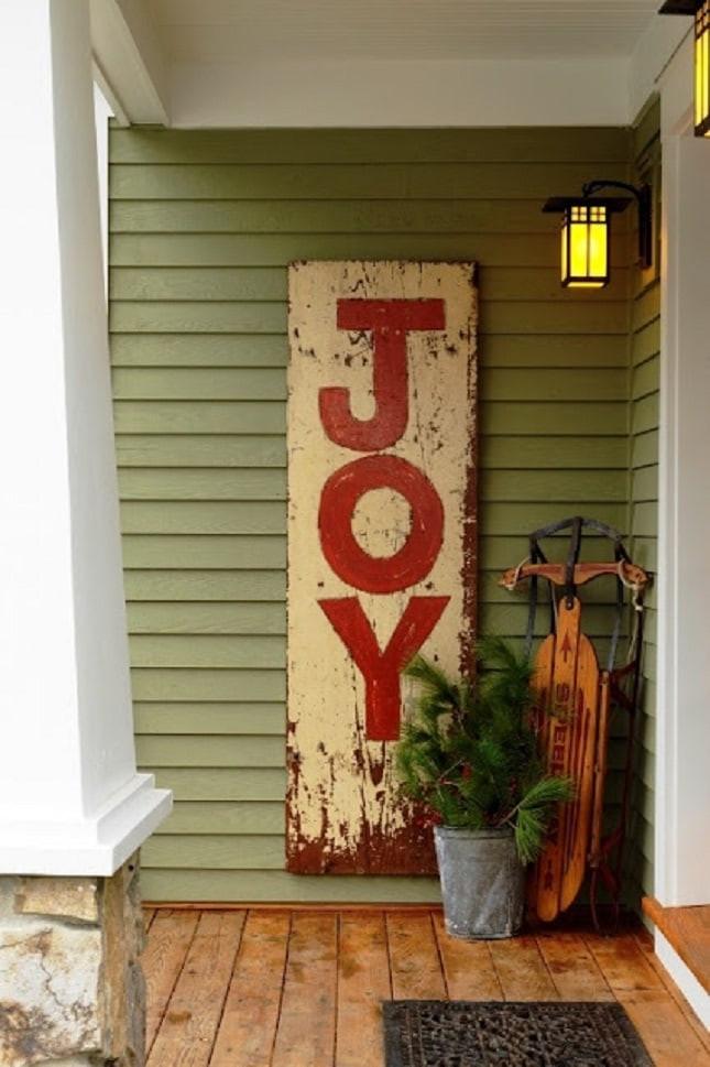 Porch Christmas Decorations  FRONT PORCH CHRISTMAS DECOR