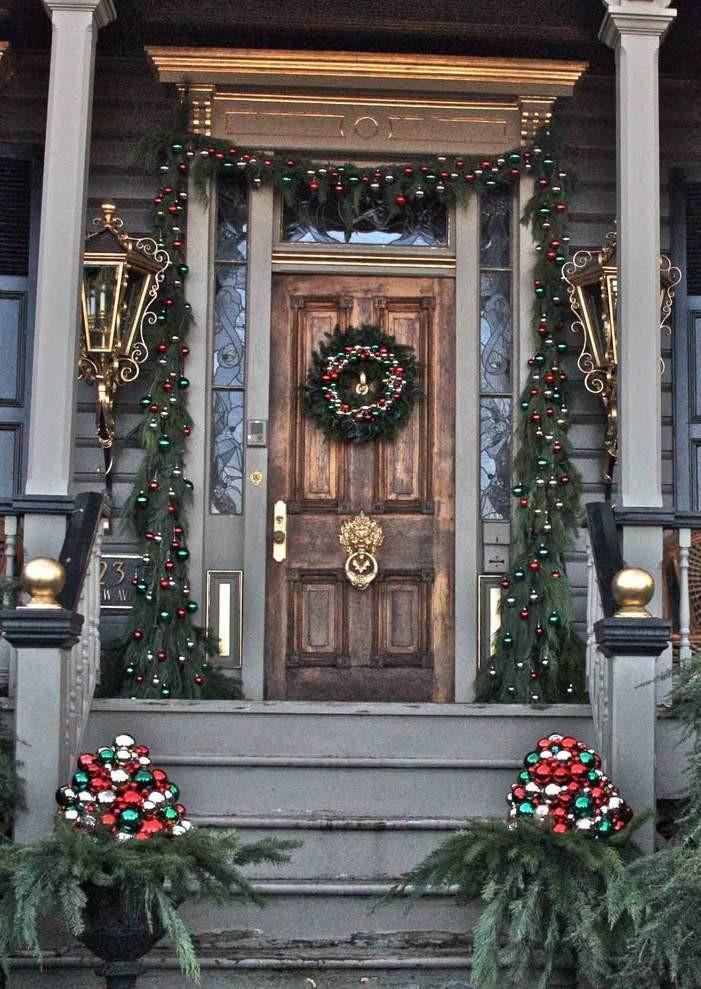 Porch Christmas Decorations  38 Amazing Christmas Porch Decor Ideas