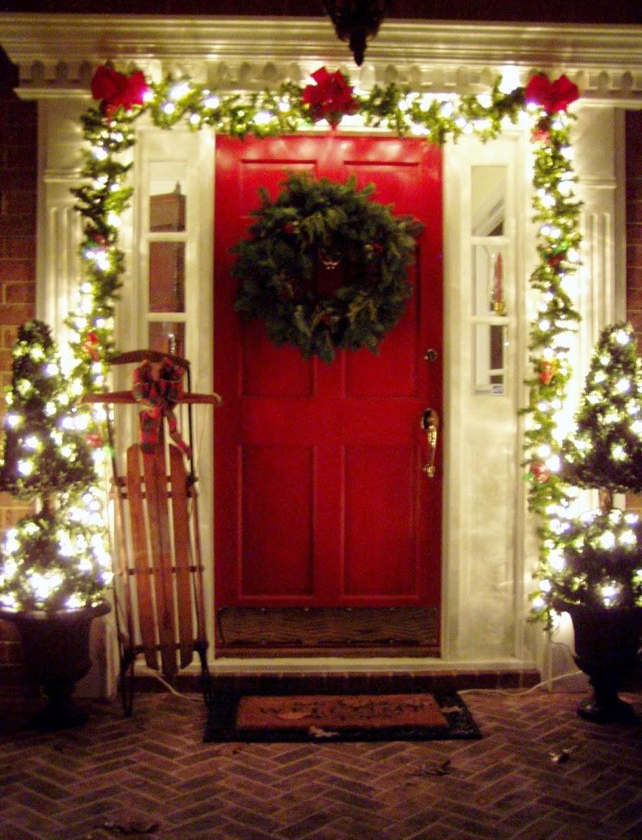 Porch Decor For Christmas  30 Outdoor Christmas Decoration Ideas · Wow Decor