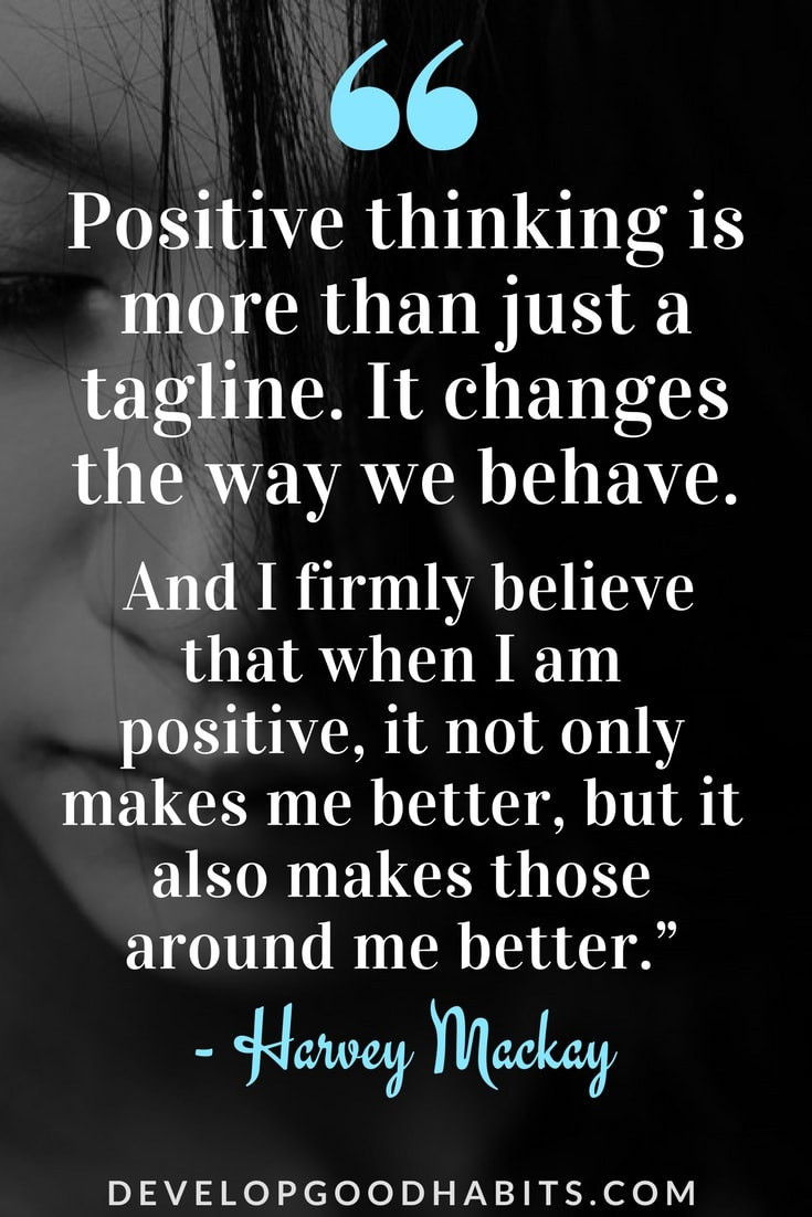 Positive Thinking Quotes Images  71 Positivity Quotes for Success in Life & Work Positive