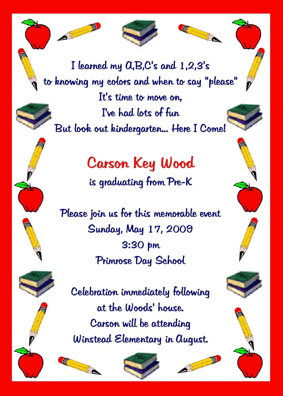 Preschool Graduation Quote  Preschool Graduation Quotes QuotesGram by quotesgram