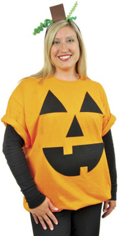 Pumpkin Costume DIY  10 Last Minute Halloween Costumes
