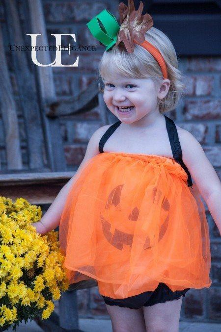 Pumpkin Costume DIY  15 SUPER EASY and CHEAP Kids Halloween Costumes