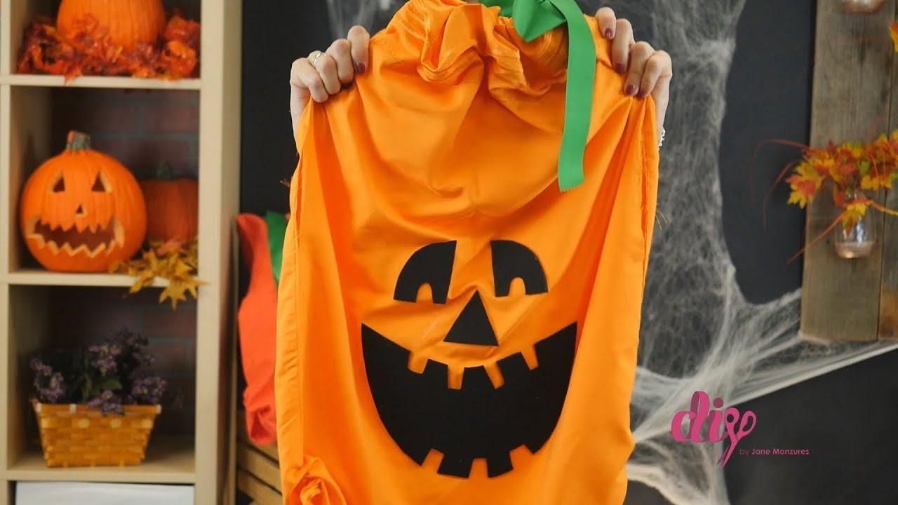 Pumpkin Costume DIY  DIY Halloween Pumpkin Costume