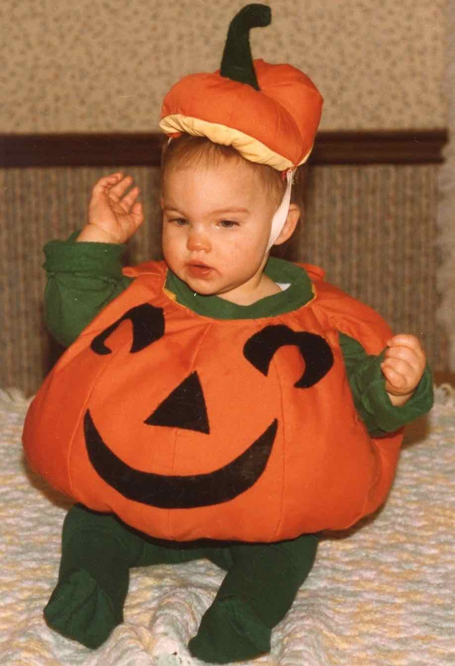 Pumpkin Costume DIY  Homemade Halloween Costumes and A Mother s Love We ll