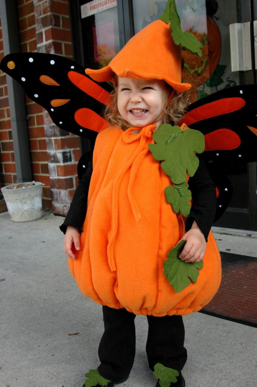 Pumpkin Costume DIY  Juicy Bits Sewing
