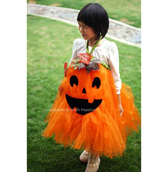 Pumpkin Costume DIY  24 Great DIY Kids Halloween Costumes Ideas Style Motivation