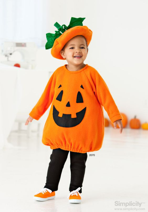 Pumpkin Costume DIY  Baby Pumpkin Costumes BabyCare Mag