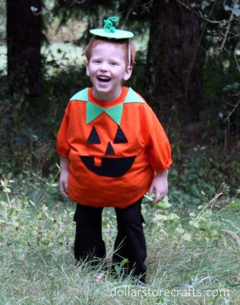 Pumpkin Costume DIY  58 best images about Halloween Costumes DIY on Pinterest