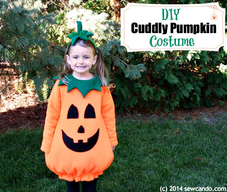 Pumpkin Costume DIY  Friday Spotlight There s a Party Going At Sew Can Do