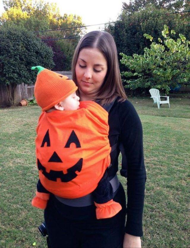 Pumpkin Costume DIY  Best 25 Newborn halloween costumes ideas on Pinterest