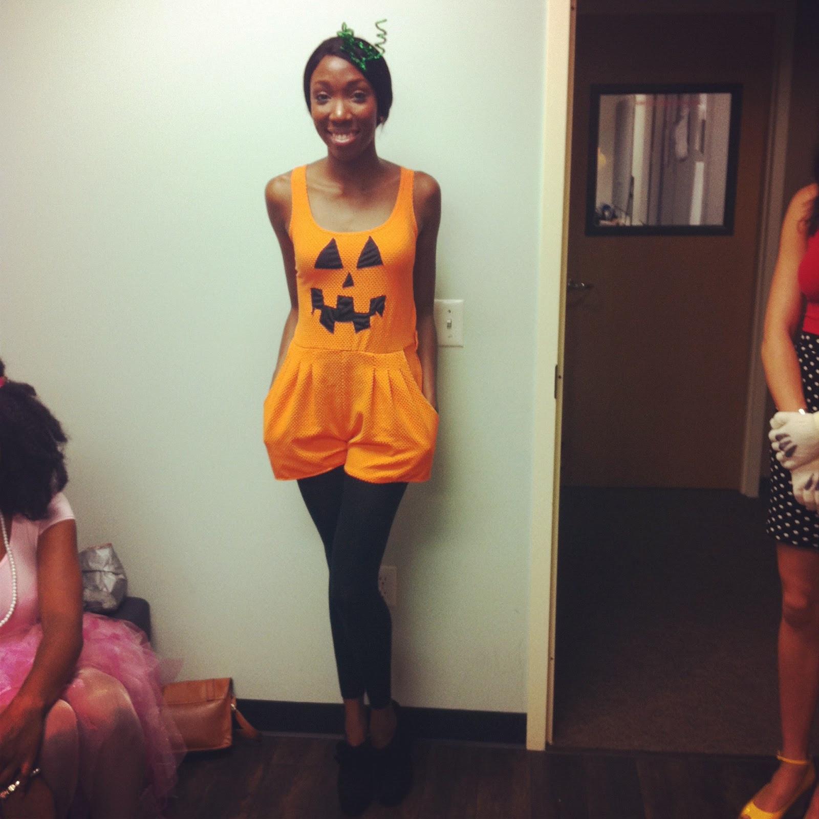 Pumpkin Costume DIY  5 DIY Halloween Costume Ideas Under 5$