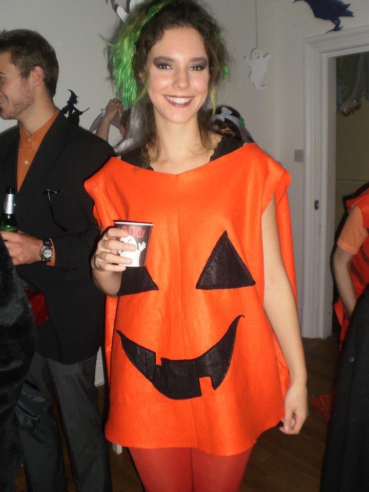 Pumpkin Costume DIY  Five Crafty Halloween Projects Jessthetics