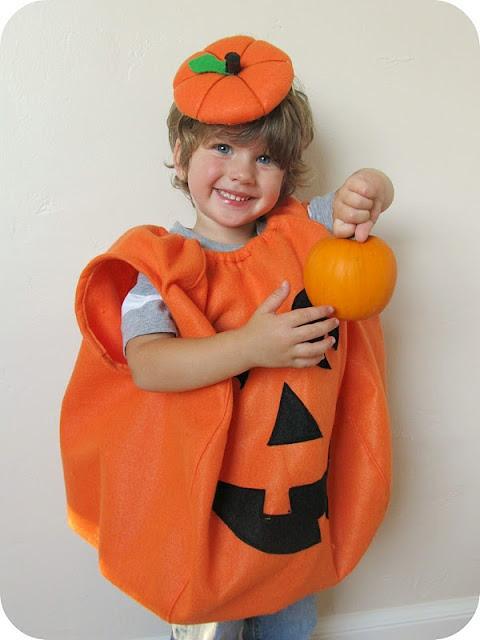 Pumpkin Costume DIY  homemade by jill rollie pollie pumpkin no template except