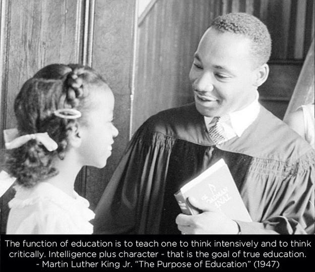 Purpose Of Education Quotes  Martin Luther King Jr Day Quotes – AtulHost