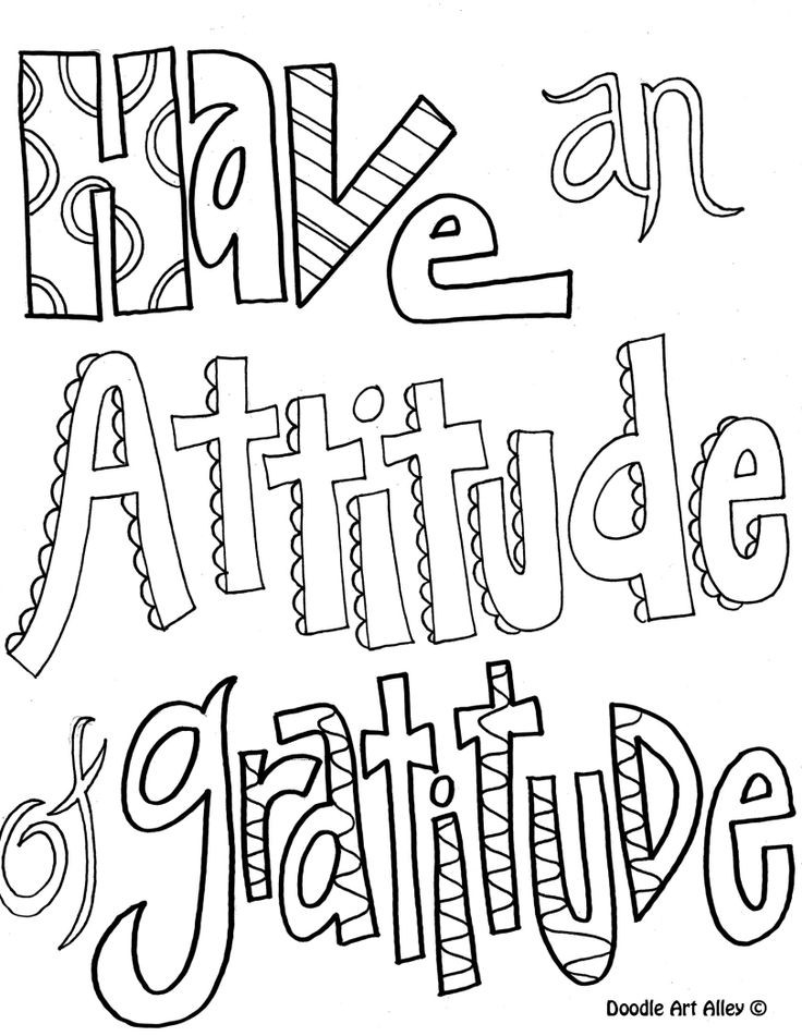 Quote Coloring Pages To Print  Printable Doodle Quotes To Color QuotesGram