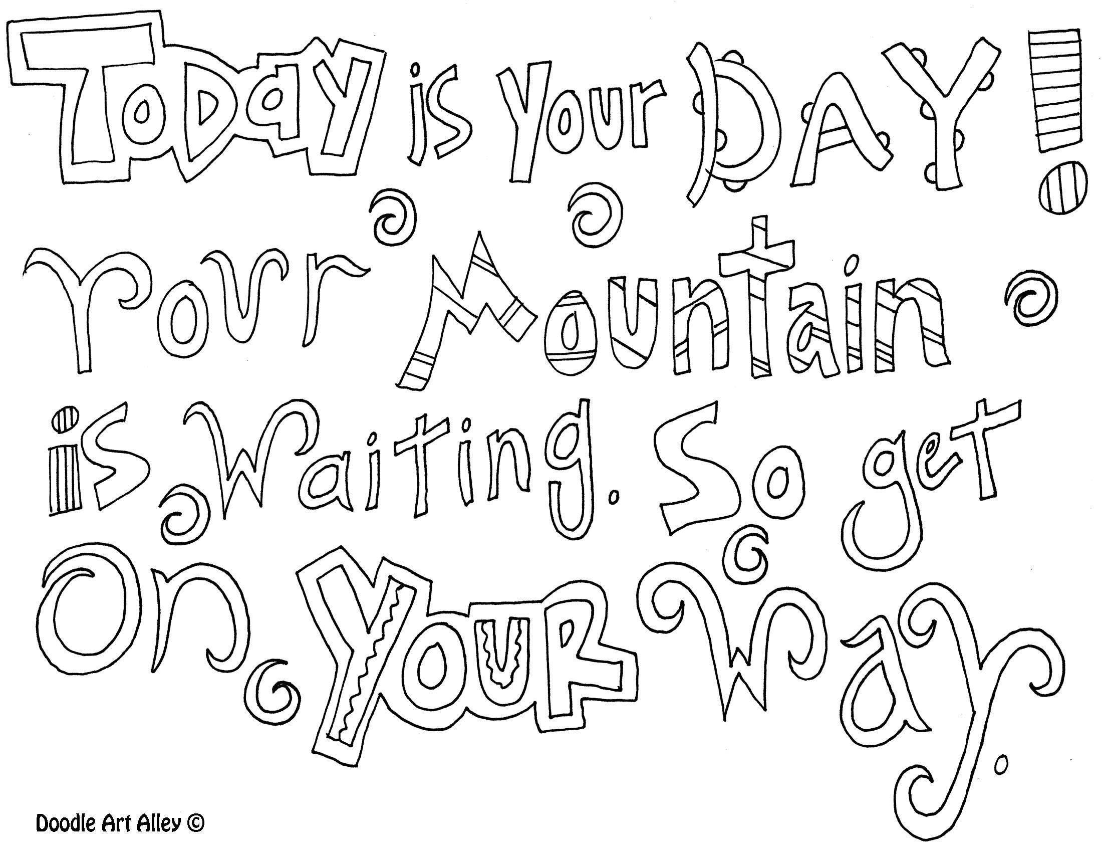 Quote Coloring Pages To Print  quote coloring pages