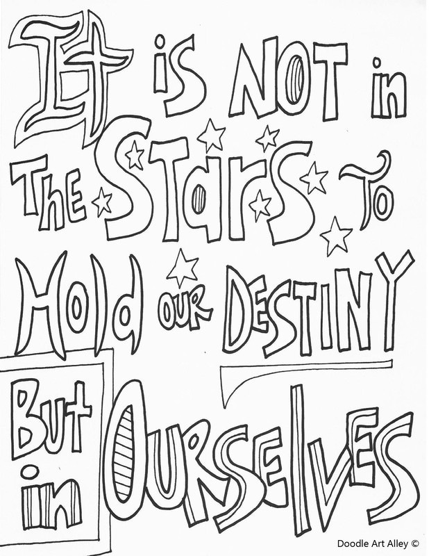 Quote Coloring Pages To Print  Quote Coloring Pages Doodle Art Alley