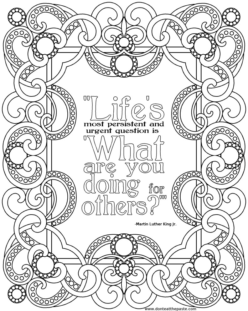 Quote Coloring Pages To Print  All Quotes Coloring Pages Printable QuotesGram