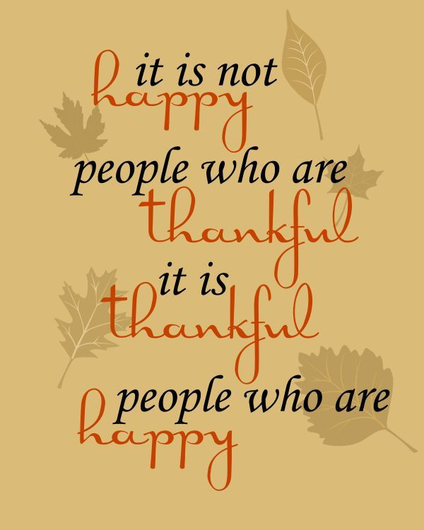 Quote On Thanksgiving  17 Best Thanksgiving Quotes on Pinterest