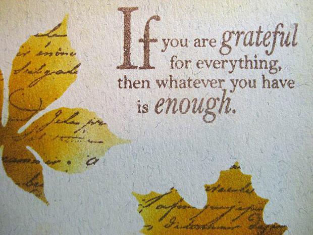 Quote On Thanksgiving  Thanksgiving Quotes