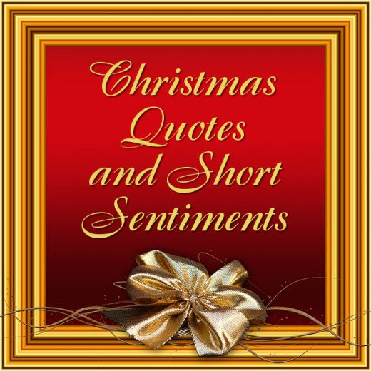 Quotes For Christmas Card  Short Christmas Quotes and Sayings for Cards