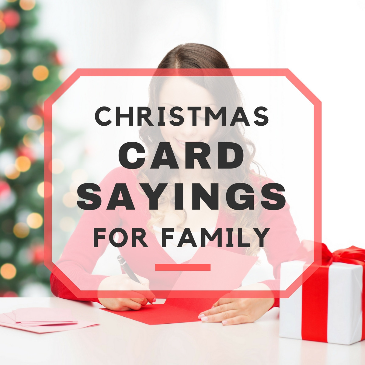 Quotes For Christmas Card  25 Christmas Card Sayings for Family