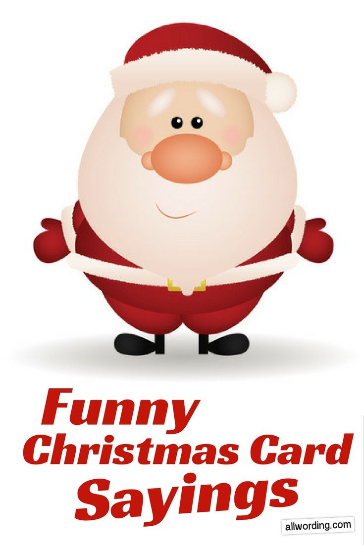 Quotes For Christmas Card  25 Best Ideas about Funny Christmas Card Sayings on