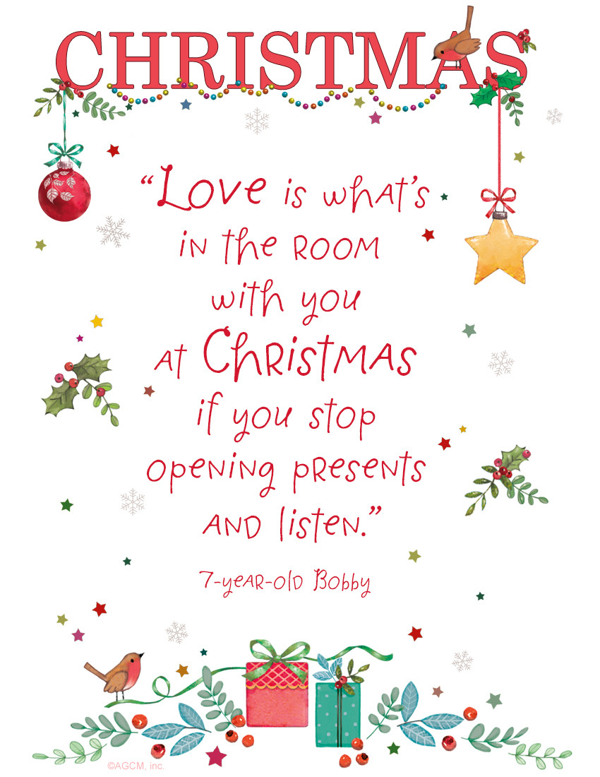 Quotes For Christmas Card  Christmas Card Sayings Quotes & Wishes