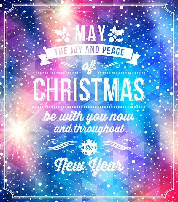 Quotes For Christmas Card  20 Most Beautiful Premium Christmas Card Designs You Would