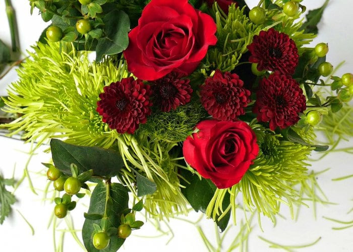 Red Christmas Flower Names  How to Create a Holiday Floral Arrangement