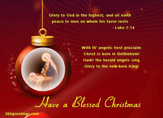 Religious Christmas Quotes And Sayings  Christian Christmas Card Messages Easyday