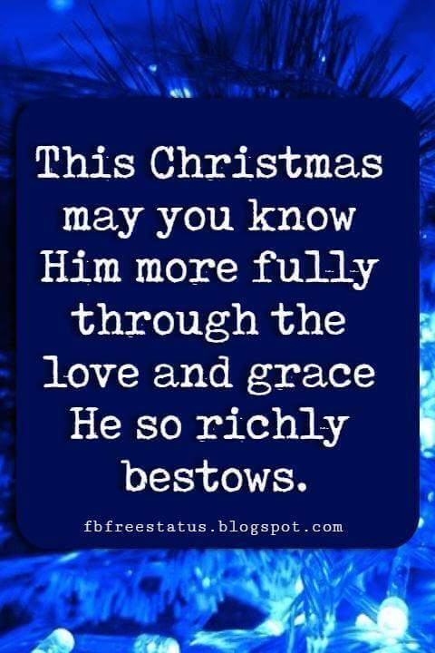 Religious Christmas Quotes And Sayings  Religious Christmas Card Sayings Quotes Greetings & Messages