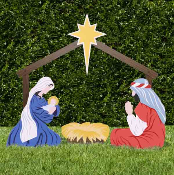 Religious Outdoor Christmas Decorations  Breathtaking Outdoor Christmas Decorations For Some