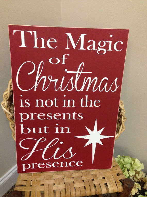 Religious Outdoor Christmas Decorations  Items similar to Christmas Sign Christmas Decor North