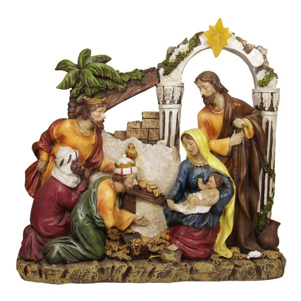 Religious Outdoor Christmas Decorations  Outdoor Nativity Sets You ll Love
