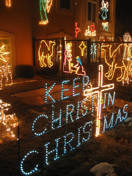 Religious Outdoor Christmas Decorations  Best Christmas Lights Displays in Colorado Springs