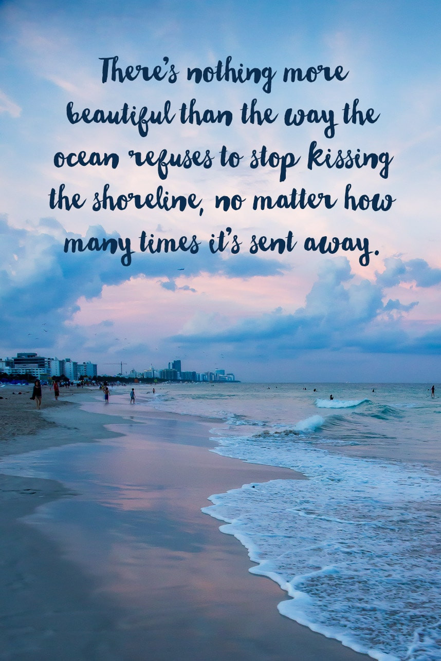 Romantic Beach Quotes  117 of the Best Beach Quotes for Instagram Captions