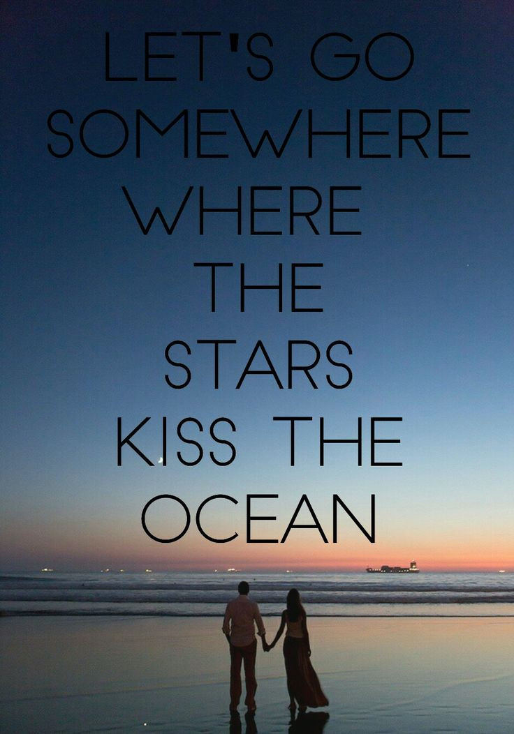 Romantic Beach Quotes  445 best Ocean Quotes images on Pinterest